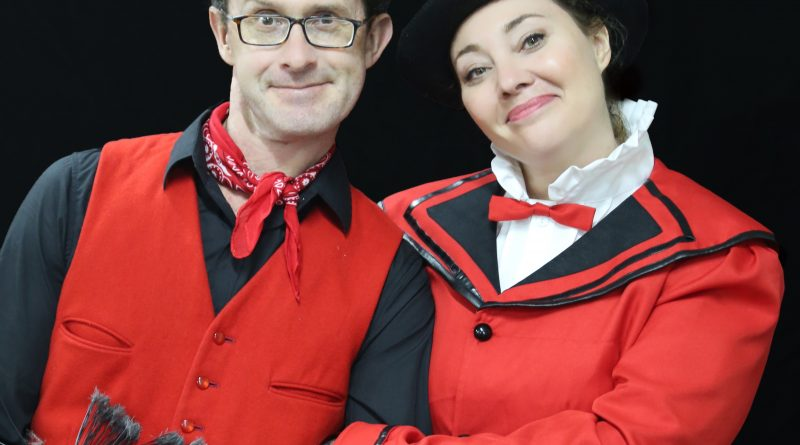 David Harrod and Tiffany Speight star in Mary Poppins.