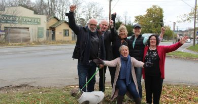 Woondend residents are rejoicing at the end of a lengthy battle to put a stop to a commercial development at their town gateway.