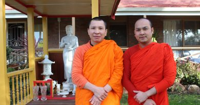 Ven. Phuthixay Phuthibandith and Ven. Khamsy Chanthasone.