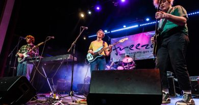 Indie rock group Dr. Frisco brought the wow-factor to win Macedon Ranges' Battle of the Bands heat on Saturday. Photo: Ties Urie