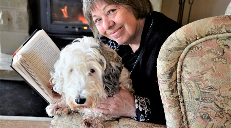 Bendigo Writers Festival director Rosemary Sorensen - pictured here with Sealy the sealyham terrier - is among the many looking forward to the popular upcoming event.