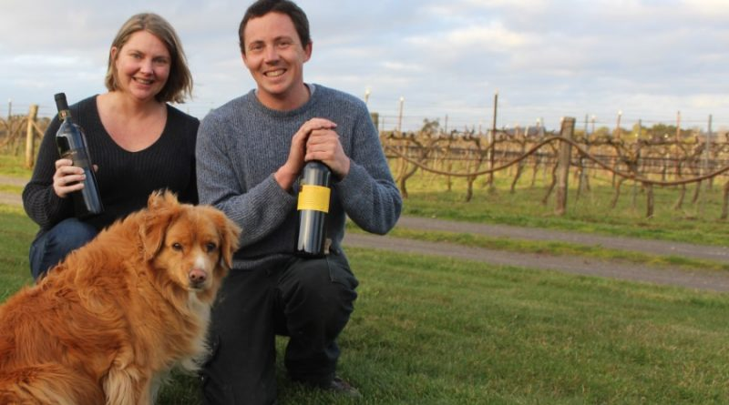 Hanging Rock WInery's Ruth and Rob Ellis are celebrating the winery's success at Heathcote Wine Show.