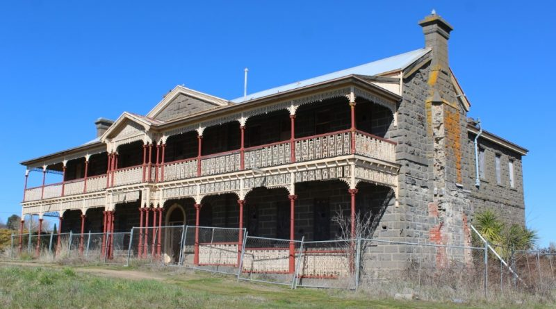 The Kyneton Hospital is one of the earliest of a group of Victorian country hospitals built in the early 1850s and 1860s. It is of State significance and is included in the Victorian Heritage Register for its historical, social and architectural importance.