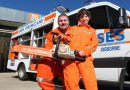 Gisborne SES father and son team Ross and Lucas Evans encourage people to get involved in their local community through the SES.