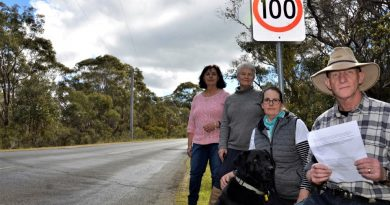 Residents of Ranters Gully Road at Muckleford say the current speed limit on their road is an accident waiting to happen.