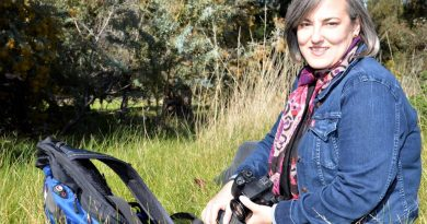 Acclaimed travel writer Lee Atkinson has just launched a new book - after setting her swag down in Castlemaine.
