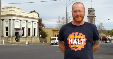 Jeremy Forbes, founder of local support network Hope Assistance Local Tradies, says organisations like HALT are vital to connect people to each other in regional areas.