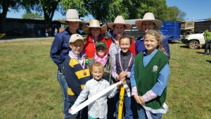 Is this the future of the cattle industry? There was not a bloke in sight in the Champion Herdsman, junior cattle handling or junior judging competitions. Photo: Bernadette Nunn