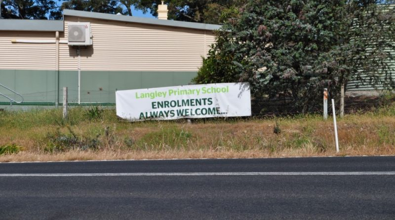 Langley Primary School is seemingly languishing with an enrolment of just eight students and permanent staff departing.
