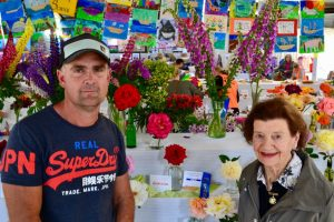 Kyneton's Wayne Gray took out the coveted Champion Rose prize donated by life member Rita O'Sullivan. Photo: Bernadette Nunn