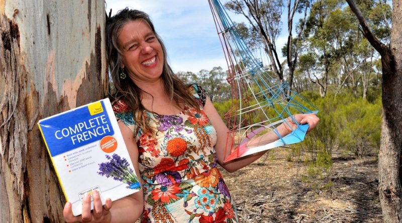 French tutor Emma Dubuc is looking forward to the new language courses about to start up at Castlemaine Community House.