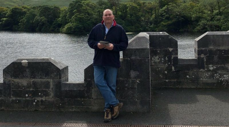 Robert Marsh pictured in Ireland last August for a family wedding.