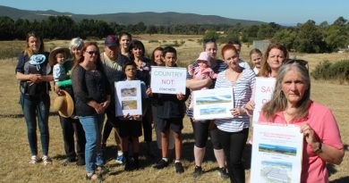 New Gisborne residents are petitioning Macedon Ranges councillors to re-think plans to expand the Gisborne Business Park.