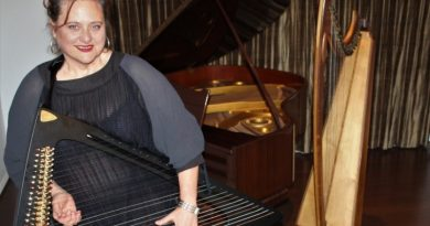 Kyneton harpist Mary Doumany is set to present a unique concert performance in the Kyneton Mechanics Institute on March 10.