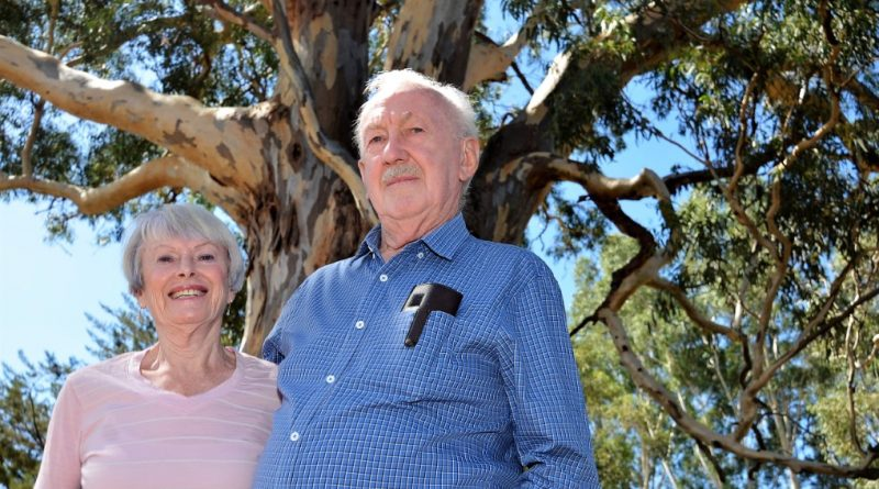 Caroline and Terry Bellair in Castlemaine.