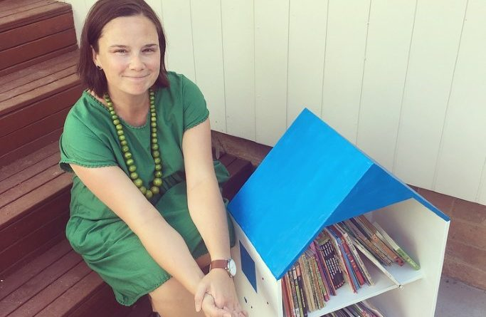 Carli Springate is the brains behind the Book Boxes project.