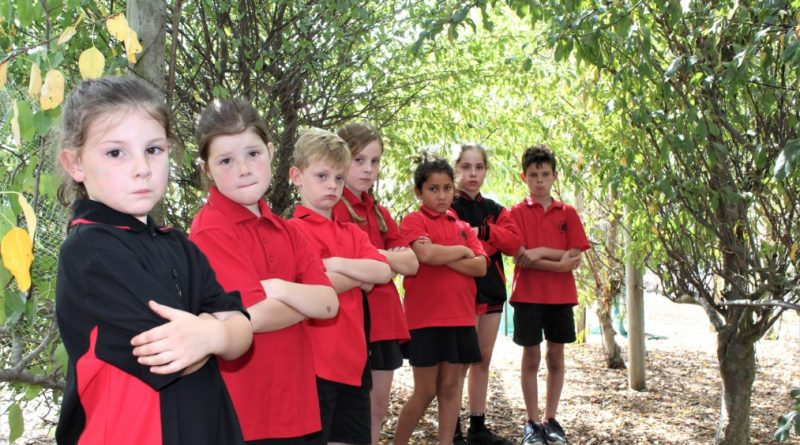 Romsey Primary students Abby, Ruby, Levi, Miley, Leo, Alice and Jaxson are saddened by the loss.