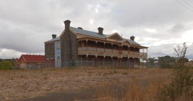 Winport Developments has abandoned its plans to develop the Old Kyneton Hospital site and has instead put it up for sale.