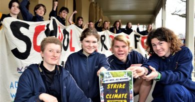 Castlemaine students prepare for global climate strike