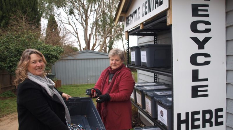 Lancefield recycling centre launches