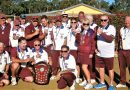Central Highlands pennant bowls down to the last end!