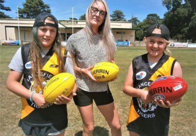 Lancefield girls' footy groundbreaker